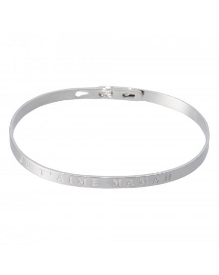 """Bracelet à message """"JE T'AIME MAMAN"""""""