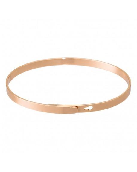 """Bracelet à message """"HAKUNAMATATA"""" rosé"""