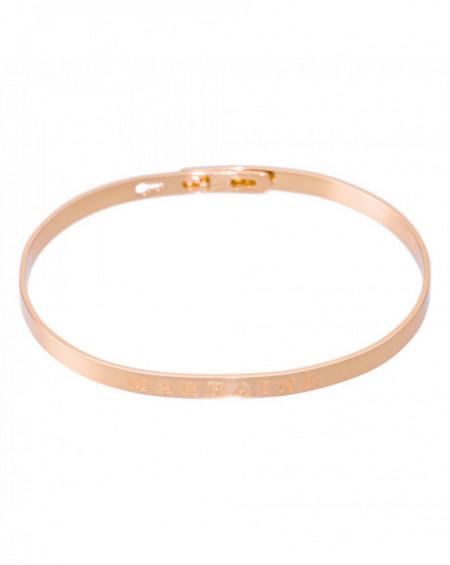 """Bracelet à message """"MARRAINE"""" Rosé"""