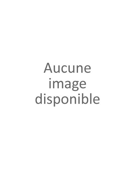 """Pochette à message """" JE SUIS UNE MAMIE QUI DÉCHIRE"""" Beige et bleu - 21,5 x 15,5 x 1 cm"""